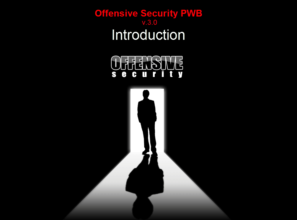 PWB - Penetration Testing with BackTrack upgrades
