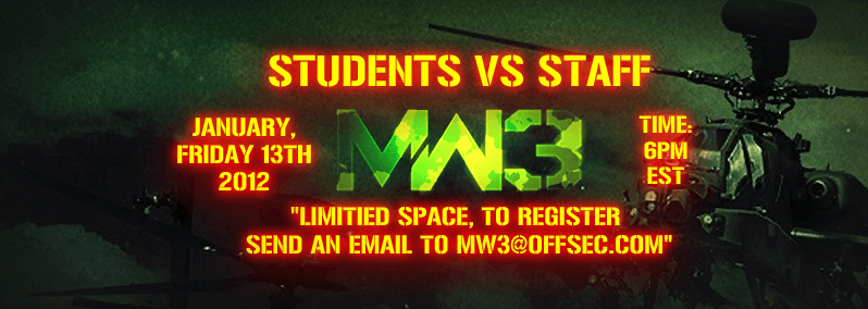 MW3 Staff vs Students 0x1