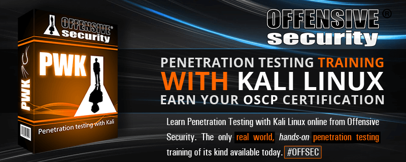 Penetration Testing With Kali Pwk Online Security