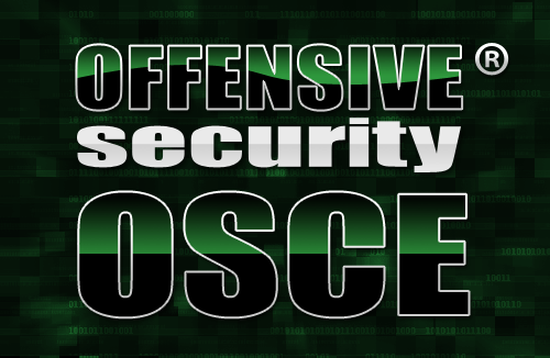 Offensive Security Certified Expert Certification (OSCE)