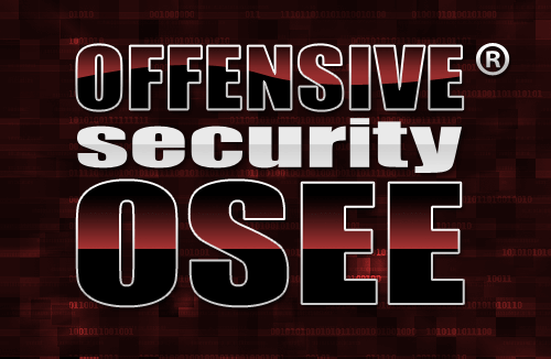 Offensive Security Exploitation Expert (OSEE)