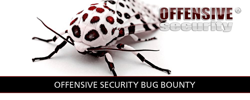 Offensive Security Bug Bounty Program