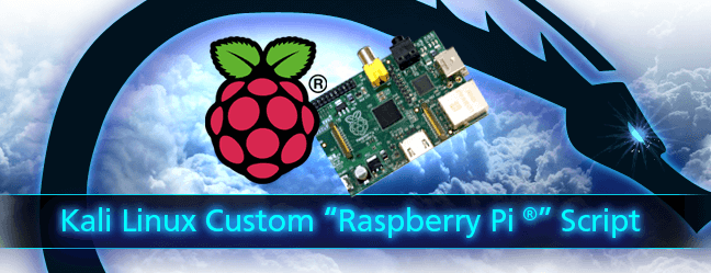Kali Custom Raspberry Pi 1