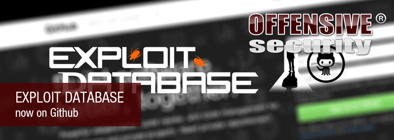 Exploit Database now on Github