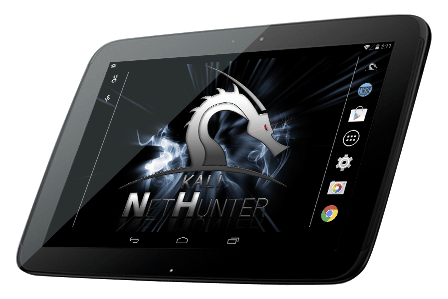 Kali Linux NetHunter - Nexus and OnePlus Downloads