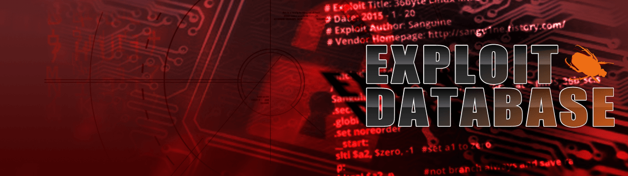 The Exploit Database - Offensive Security