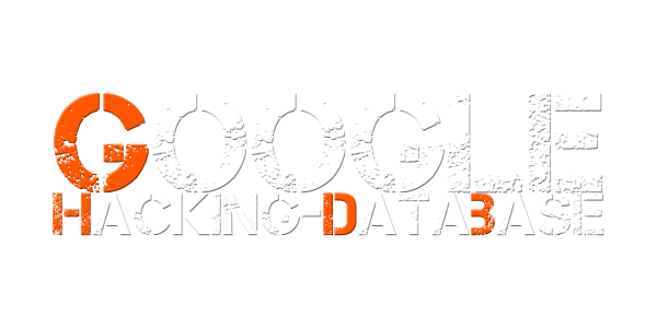Google Hacking Database (GHDB)