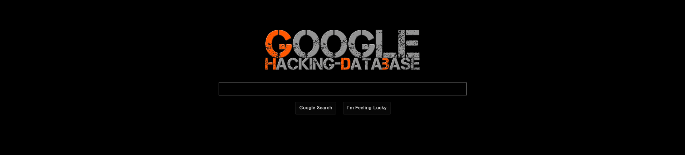 Google Hacking Database (GHDB) - Offensive Security