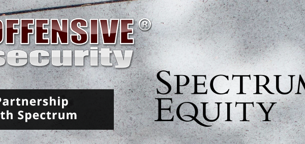 Offensive Security partners with Spectrum Equity