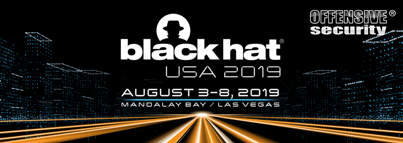 Visit offsec at BlackHat 2019