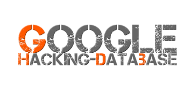 The Google Hacking Database (GHDB)